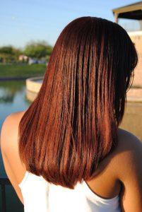 silk press Endless Creations Salon Hair Texture Expert Gilbert AZ