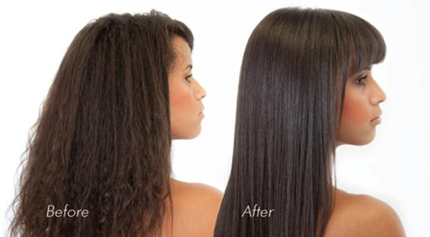 Brazilian Blowout Gilbert AZ Before After