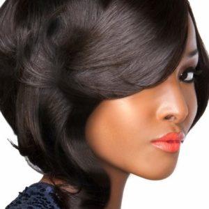 silk press blowout Endless Creations Salon Hair Texture Expert Gilbert AZ